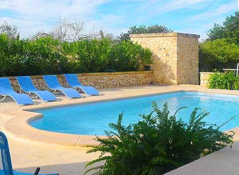 Pool der Ferienwohnung Finca Mallorca 2 - 6 Personen PM 6022