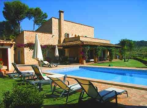 Pool Finca Mallorca 8  - 10 Personen PM 604