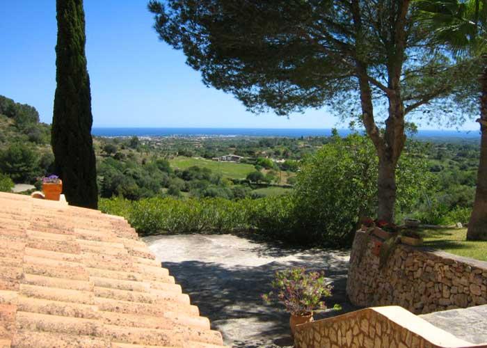 Blick 3 Poolvilla Mallorca Südosten für 4 Personen PM 605