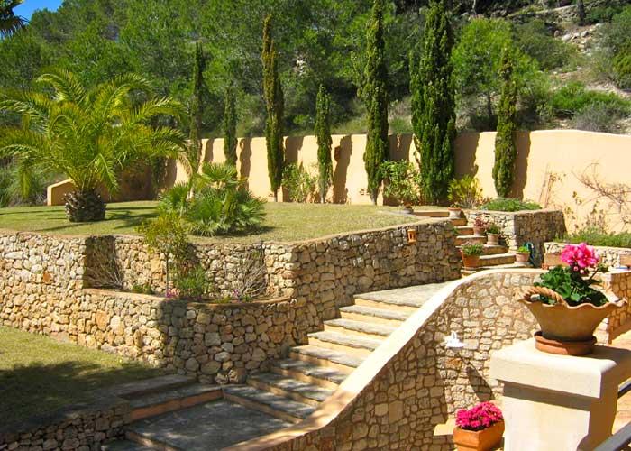 Garten Ferienhaus Mallorca Südosten mit Pool für 4 Personen PM 605