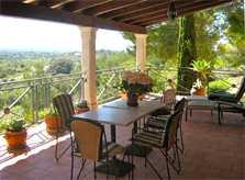 Terrasse Poolvilla Mallorca Südosten für 4 Personen PM 605