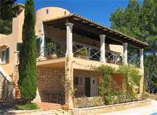Blick 2 auf das Ferienhaus Mallorca Südosten mit Pool für 4 Personen PM 605