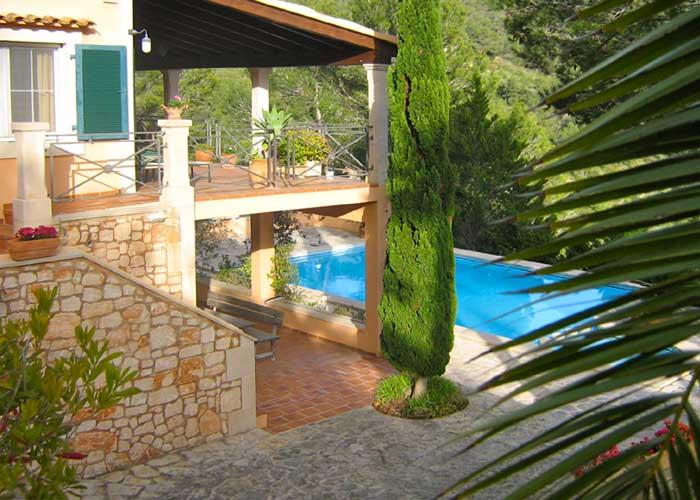 Pool und Ferienhaus Mallorca Südosten mit Pool für 4 Personen PM 605