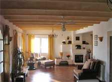 Wohnraum Ferienhaus Mallorca Südosten mit Pool für 4 Personen PM 605