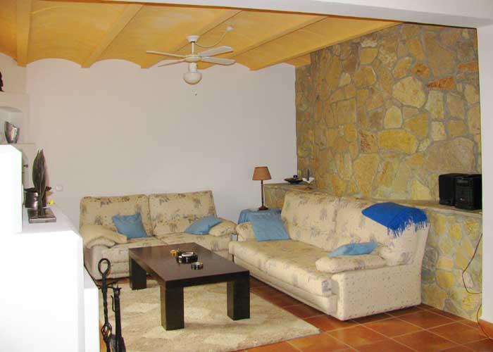 Wohnraum 2 Ferienhaus Mallorca Südosten mit Pool für 4 Personen PM 605