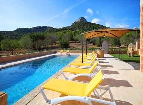 Pool Exklusive Finca Mallorca für 9 - 10 Personen PM 6063