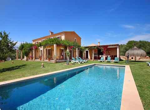 Großer Pool Exklusive Finca Mallorca 12 Personen PM 6064