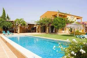 Großer Pool Exklusive Finca Mallorca Südosten für 10 Personen PM 6069