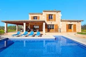 Poolblick Exklusive Finca  Mallorca 12 - 13 Personen PM 6083