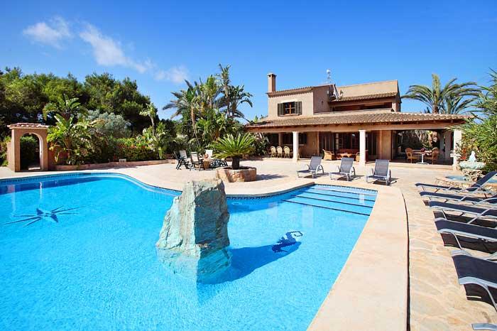 Pool und Finca Exklusives Ferienhaus Mallorca 12 Personen PM 6091