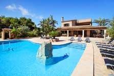 Poolblick Finca Mallorca Südosten 10 Personen PM 6091