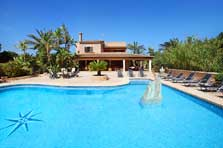 Pool und Haus Finca Mallorca Südosten PM 6091
