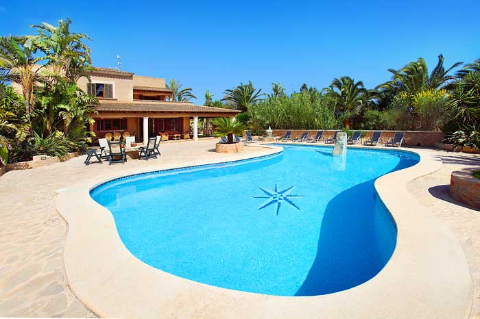 Pool und Ferienhaus Mallorca PM 6091