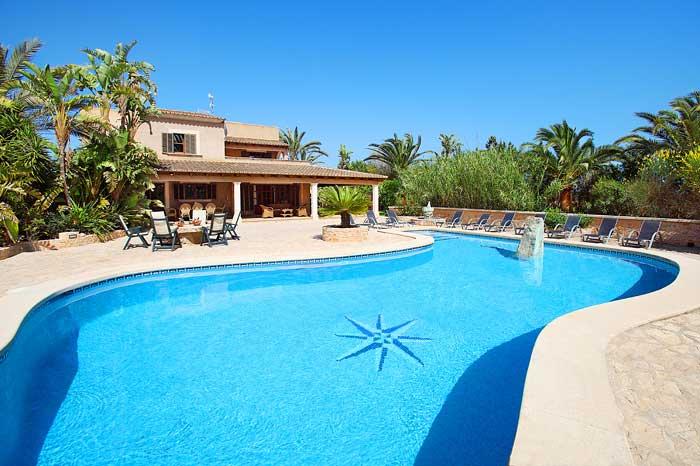 Pool und Finca Mallorca mit Pool PM 6091
