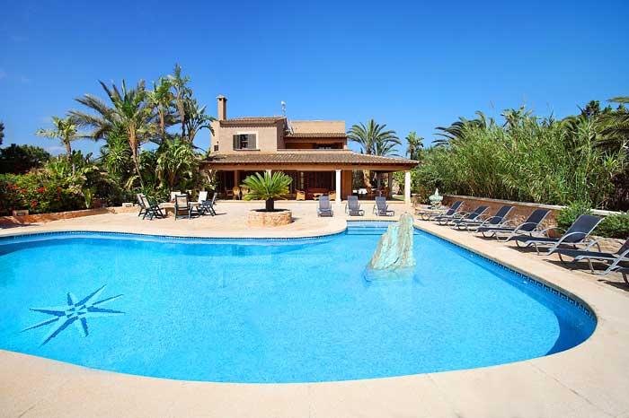 Pool und Ferienhaus Mallorca für 12 Personen PM 6091