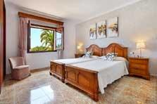 Schlafzimmer 5 Exklusive Finca Mallorca mit Pool für 10 Personen PM 6091