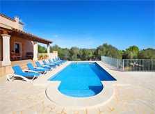 Terrasse mit Pool Finca Mallorca PM 6093