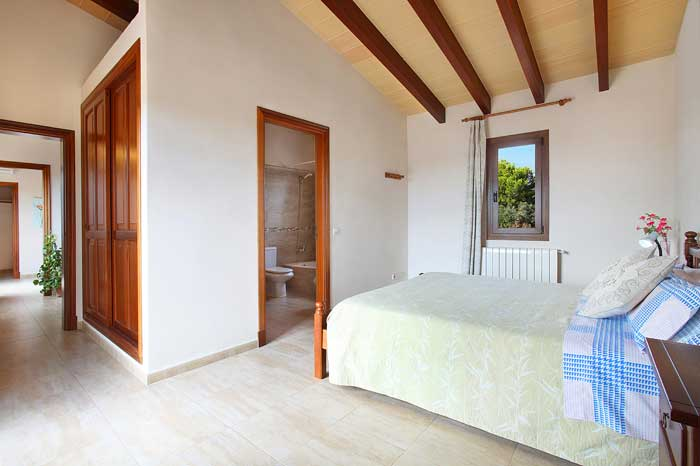 Schlafzimmer 1. Stock Finca Mallorca Südostküste PM 6093