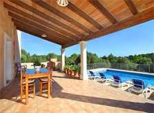 Überdachte Terrasse Finca Mallorca PM 6093
