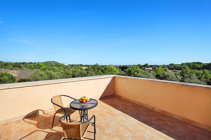 Obere Sonnenterrasse Finca Mallorca  PM 6093