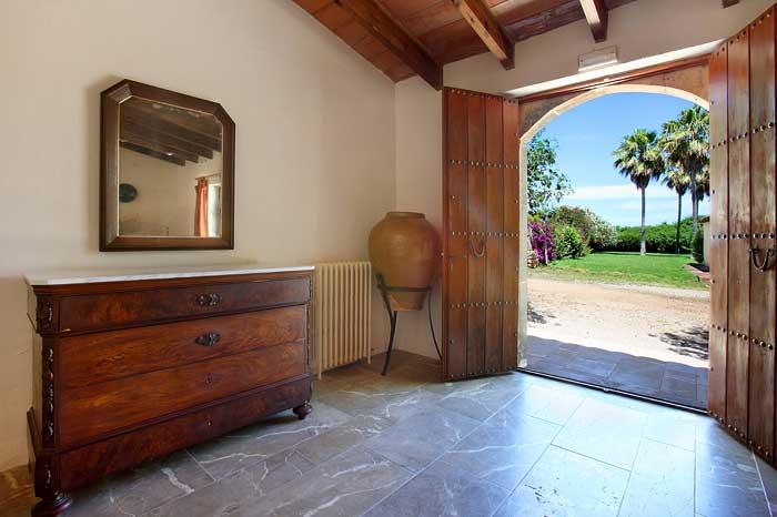 Eingangsbereich große Finca Mallorca mit Klimaanlage PM 6094