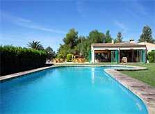 Großer Pool mit Barbecue-Casita Exklusive Finca Mallorca für 16 Personen PM 6094