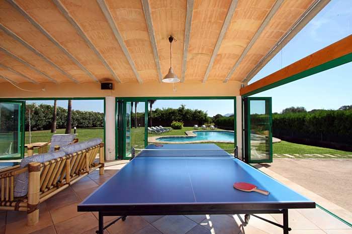 Tischtennisplatte Erstklassige Finca Mallorca mit Klimaanlage PM 6094