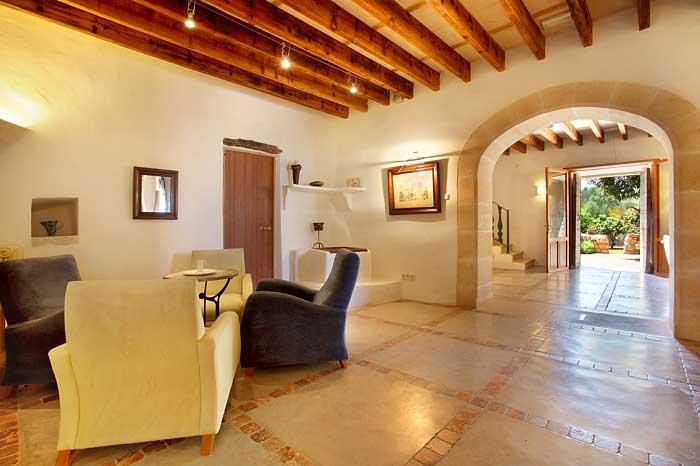 Wohnraum Exklusive große Finca Mallorca PM 6094