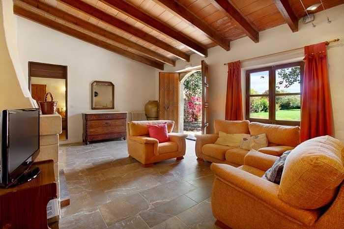 Großzügiger Wohnraum Exklusive Finca Mallorca  mit Klimaanlage PM 6094