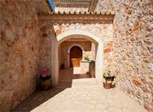 Eingang Finca Mallorca für 8 - 14 Personen PM 626