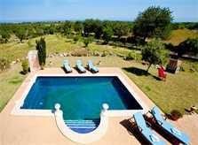 Pool Finca Mallorca mit 2 Wohneinheiten für 8 - 14 Personen PM 626