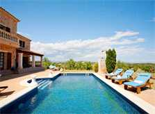 Poolblick Finca Mallorca für 8 - 14 Personen PM 626