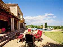 Terrasse der Finca Mallorca für 8 - 14 Personen PM 626