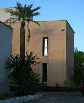 Blick auf die Finca Exklusives Ferienhaus Mallorca PM 629