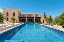 Poolblick Moderne Finca Mallorca mit Pool PM 629 exklusiv