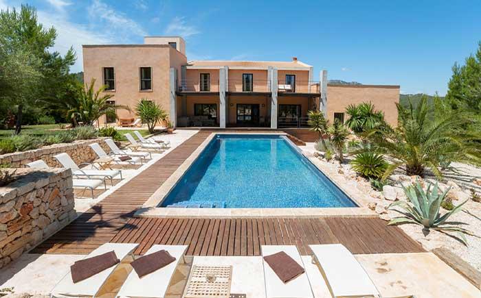 Poolblick 4 Exklusive Finca Mallorca mit Pool PM 629