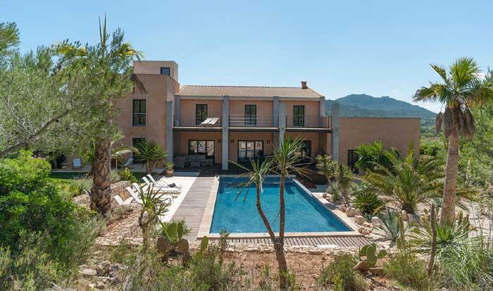 Poolblick 3 Exklusive Finca Mallorca mit Pool PM 629