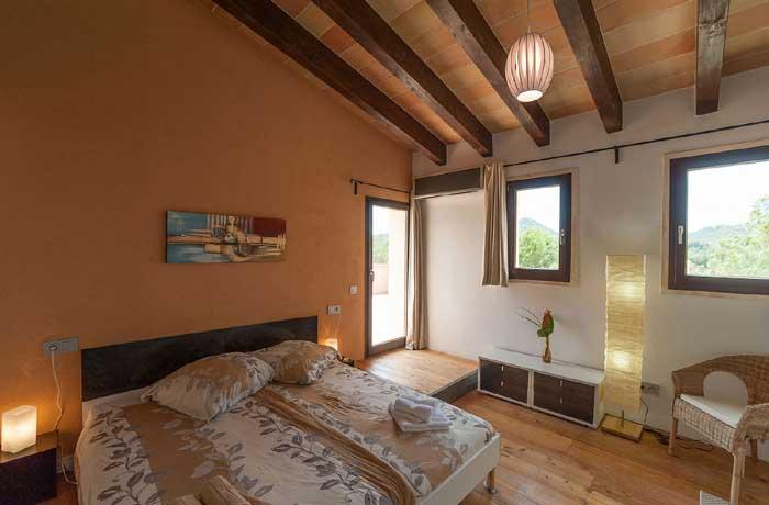 Schlafzimmer 4 Exklusives Ferienhaus Mallorca mit Pool für 10 Personen PM 629