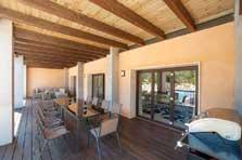 Terrasse 2 Exklusive Finca Mallorca mit Pool PM 629
