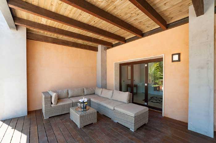 Terrasse 3 Exklusive Finca Mallorca mit Pool PM 629