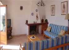 Wohnraum Ferienhaus Finca Mallorca mit Pool PM 6343