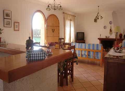 Wohnraum 2 Ferienhaus Finca Mallorca mit Pool PM 6343