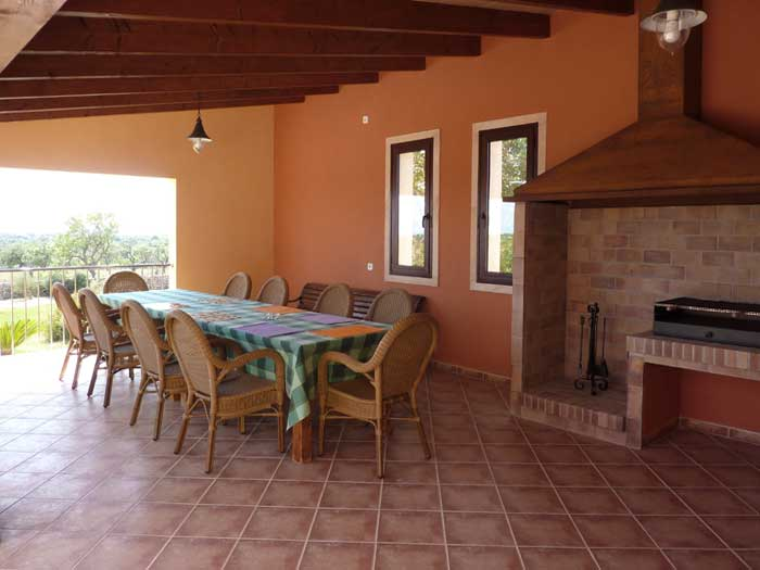 Barbecue Exklusives Ferienhaus Mallorca mit Pool für 10 Personen PM 646
