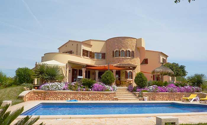 Blumen Exklusives Ferienhaus Mallorca mit Pool für 10 Personen PM 646