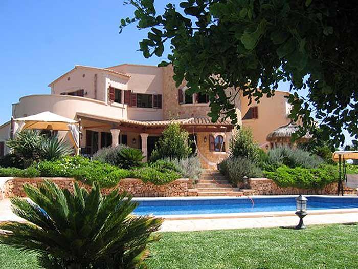 Pool und Ferienhaus Mallorca Santanyi für 10 Personen PM 646
