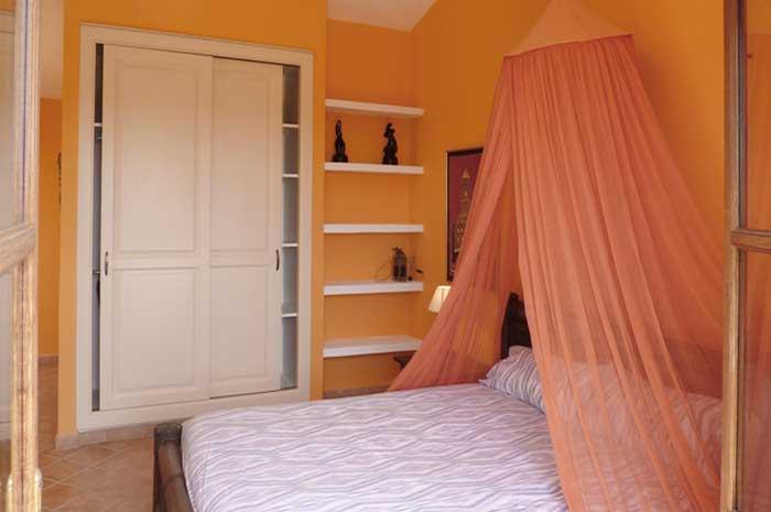 Schlafzimmer 5b Exklusive Finca Mallorca mit Pool für 10 Personen PM 646