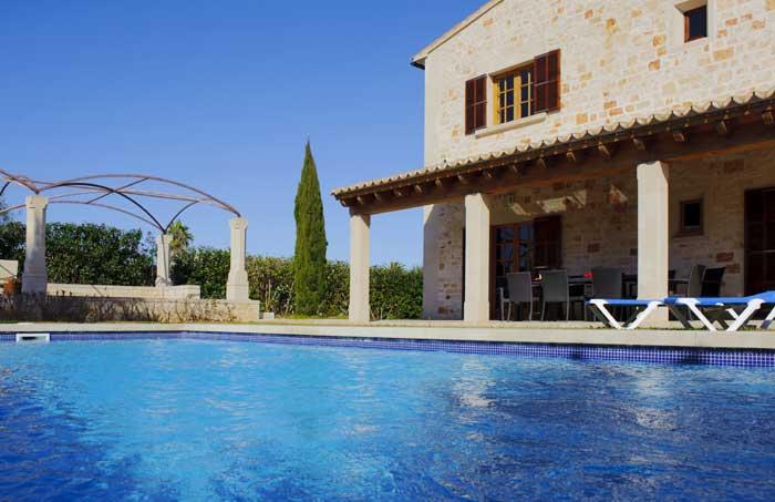 Exklusives Ferienhaus Mallorca PM 6543 für 10 Personen 5 Schlafzimmer 4 Bäder Internet Klimaanlage