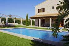 Exklusive Finca Mallorca mit Pool PM 6543 für 10 Personen Wlan Klimaanlage Es Llombards