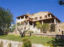 Blick auf die Finca Mallorca mit Pool für 10 Personen PM 6553