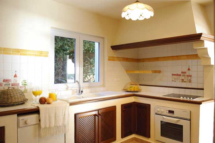 Küche Exkusives Ferienhaus Mallorca mit Pool und Kinderpoolbereich 8 Personen Klimaanlage Meerblick PM 6562